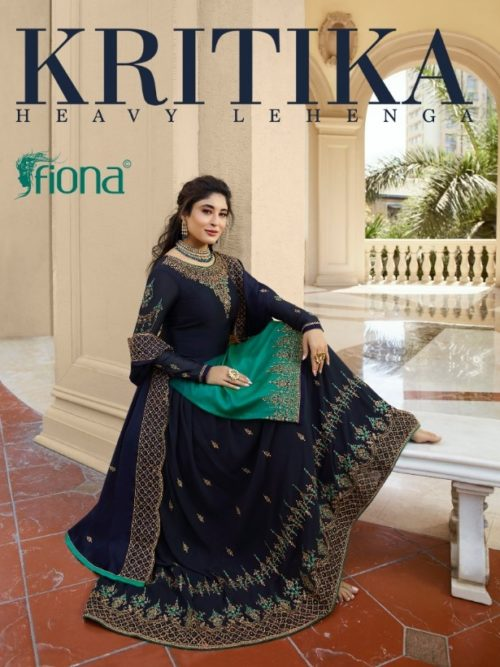 Fiona Kritika Lehenga Style