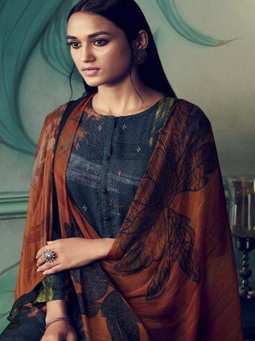 Sahiba Path Strokes Pashmina