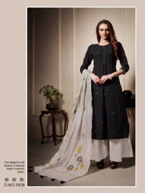 Shai-Presents-Raaga-Pure-Bemberg-Slub-With-Hand-Work-Suits-1808