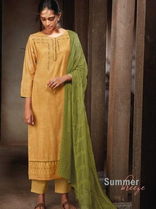 Ganga-Presents-Sava-Summer-Breeze-Cotton-Slub-Printed-With-Embroidery-Suits-1183