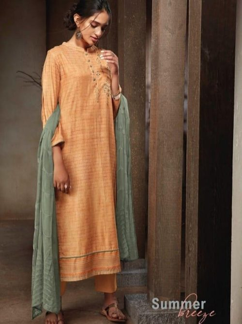 Ganga-Presents-Sava-Summer-Breeze-Cotton-Slub-Printed-With-Embroidery-Suits-1188
