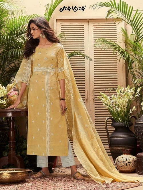 JayVijay-Presents-Intrigue-6-Pure-Cotton-Dobby-and-Block-Print-With-Handwork-Salwar-Suit-4822