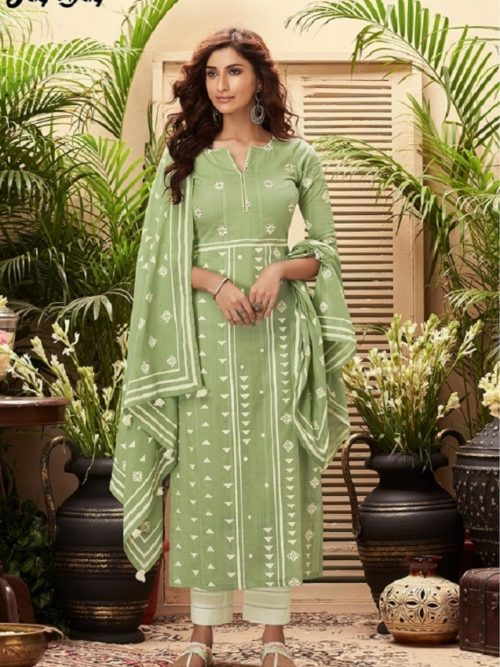 JayVijay-Presents-Intrigue-6-Pure-Cotton-Dobby-and-Block-Print-With-Handwork-Salwar-Suit-4826