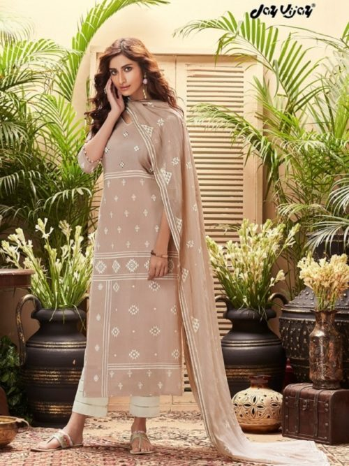 JayVijay-Presents-Intrigue-6-Pure-Cotton-Dobby-and-Block-Print-With-Handwork-Salwar-Suit-4827
