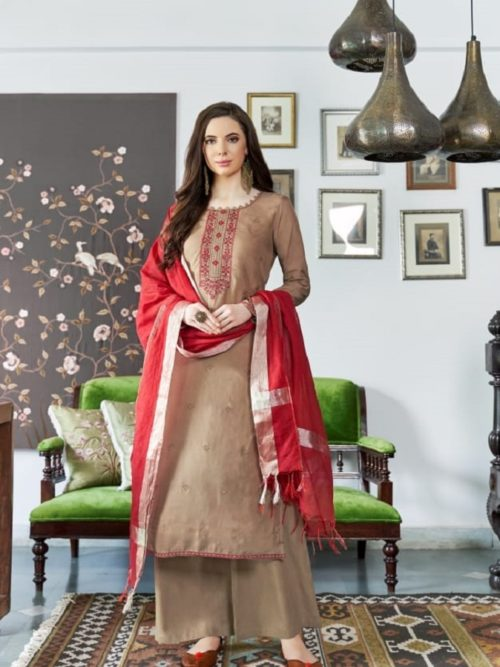 Bela-Fashion-Presents-Jasba-Viscose-Muslin-Embroidery-Work-Salwar-Suit-813