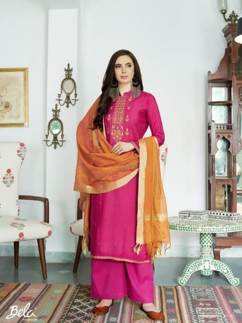 Bela-Fashion-Presents-Jasba-Viscose-Muslin-Embroidery-Work-Salwar-Suit-818