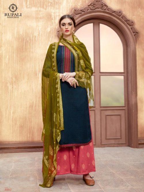 Pashmina With Embroidery Salwar Suit