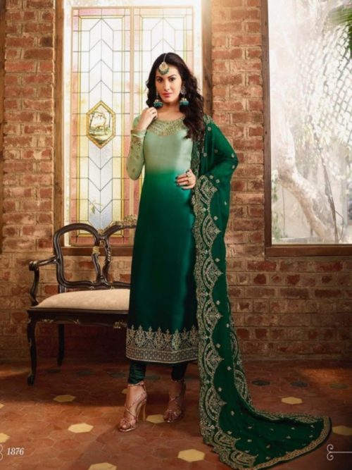 Glossy-Simar-Lajja-Satin-Georgette-With-Embroidery-and-Sarwoski-Work-Partywear-Churidar-Suit-1876-708×1024