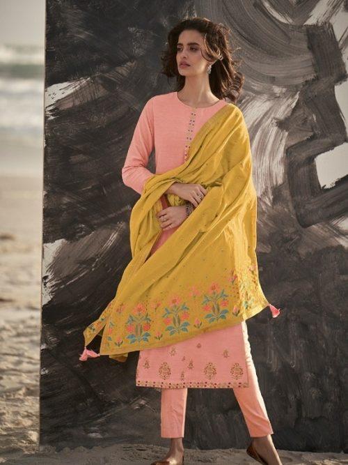 Varsha-Fashions-Presents-Ora-Munga-Silk-With-Embroidery-Salwar-Suit-O-13