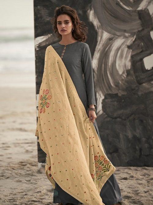 Varsha-Fashions-Presents-Ora-Munga-Silk-With-Embroidery-Salwar-Suit-O-14