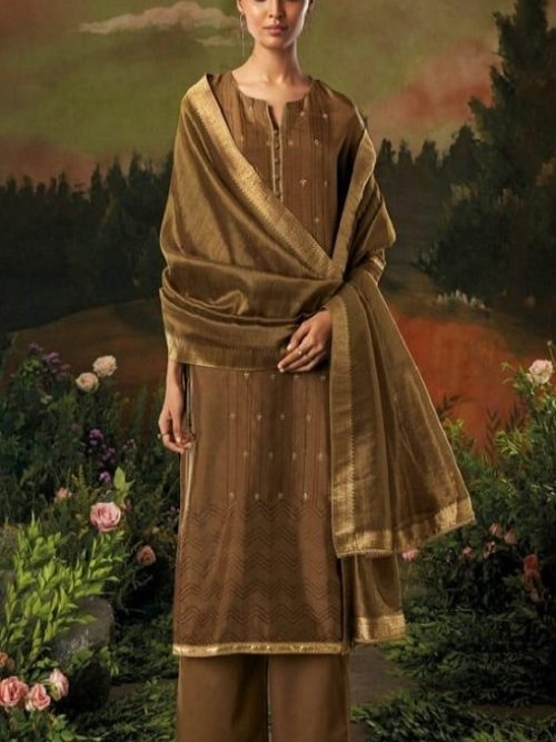 Ganga-Presents-Aani-Bemberg-Silk-Solid-With-Heavy-Embroidery-and-Jari-Lace-Border-Salwar-Suit-8314