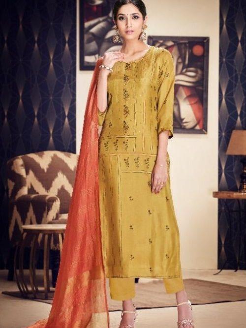 Jayvijay-Presents-Torani-2-Pure-Bemberg-Silk-Gold-Print-With-Hand-Work-Salwar-Suit-2081