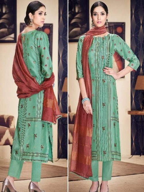 Jayvijay-Presents-Torani-2-Pure-Bemberg-Silk-Gold-Print-With-Hand-Work-Salwar-Suit-2086