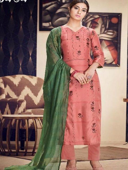 Jayvijay-Presents-Torani-2-Pure-Bemberg-Silk-Gold-Print-With-Hand-Work-Salwar-Suit-2087