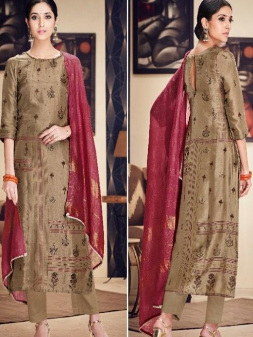 Jayvijay-Presents-Torani-2-Pure-Bemberg-Silk-Gold-Print-With-Hand-Work-Salwar-Suit-2088