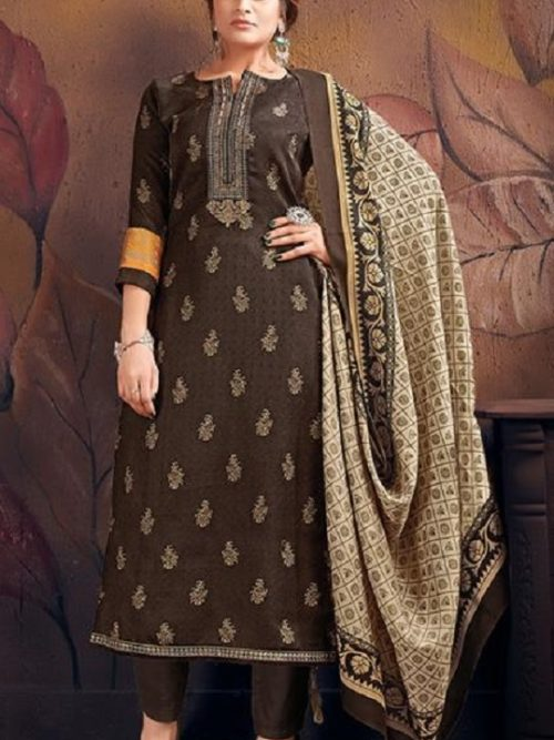Supriya-Fashion-Presents-Silver-Pearls-Pure-Wollen-Pashmina-Print-And-Embroidery-Work-Salwar-Suit-1010