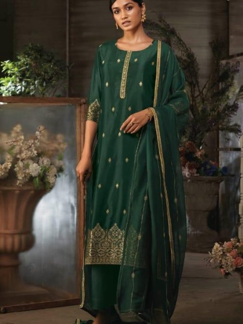 Ganga-Presents-Ayana-Pure-Silk-Jacquard-Extra-Sleeves-With-Embroidery-Salwar-Suit-7950