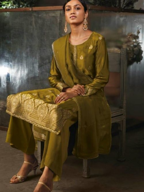 Ganga-Presents-Ayana-Pure-Silk-Jacquard-Extra-Sleeves-With-Embroidery-Salwar-Suit-7954