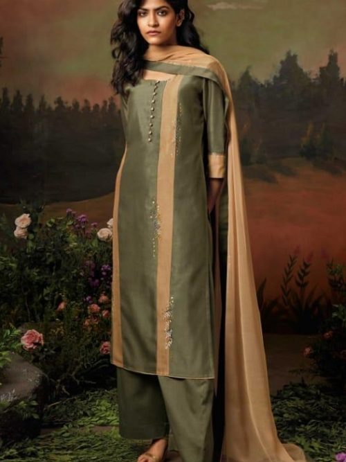 Ganga-Presents-Nisarga-Kora-Silk-Stitched-Pattern-With-Heavy-Embroidery-and-Handwork-Salwar-Suit-8322