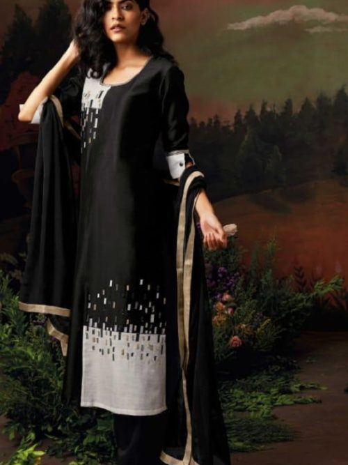 Ganga-Presents-Nisarga-Kora-Silk-Stitched-Pattern-With-Heavy-Embroidery-and-Handwork-Salwar-Suit-8323