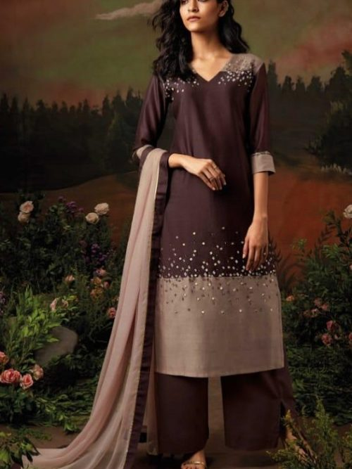 Ganga-Presents-Nisarga-Kora-Silk-Stitched-Pattern-With-Heavy-Embroidery-and-Handwork-Salwar-Suit-8324