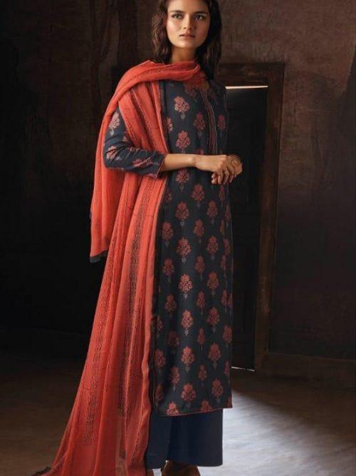 Ganga-Presents-Ravish-Wool-Dobby-Printed-With-Embroidered-and-Swarovski-Work-Salwar-Suit-8230