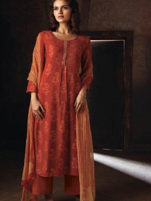 Ganga-Presents-Ravish-Wool-Dobby-Printed-With-Embroidered-and-Swarovski-Work-Salwar-Suits-8229