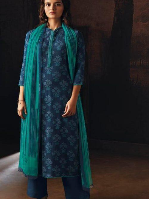 Ganga-Presents-Ravish-Wool-Dobby-Printed-With-Embroidered-and-Swarovski-Work-Salwar-Suits-8233