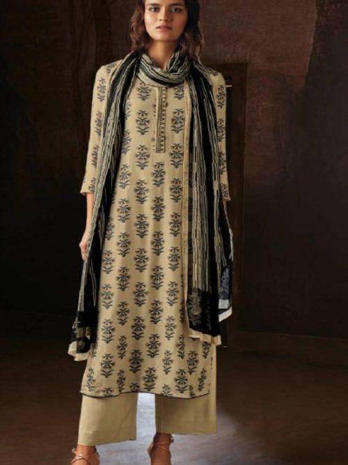 Ganga-Presents-Ravish-Wool-Dobby-Printed-With-Embroidered-and-Swarovski-Work-Salwar-Suits-8234-1