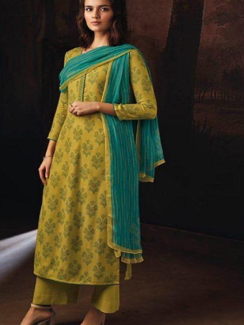 Ganga-Presents-Ravish-Wool-Dobby-Printed-With-Embroidered-and-Swarovski-Work-Salwar-Suits-8236