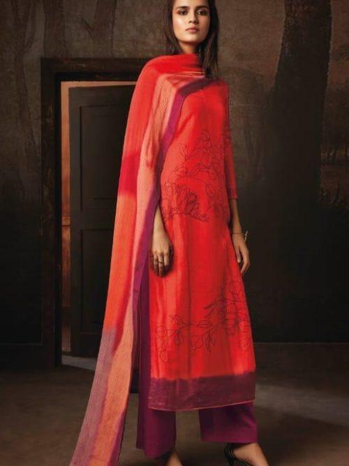 Ganga-Presents-Tvisha-Pure-Bemberg-Silk-Printed-With-Handwork-Salwar-Suit-8349