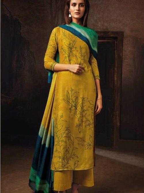 Ganga-Presents-Tvisha-Pure-Bemberg-Silk-Printed-With-Handwork-Salwar-Suit-8350