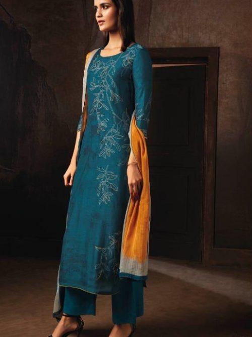Ganga-Presents-Tvisha-Pure-Bemberg-Silk-Printed-With-Handwork-Salwar-Suit-8351