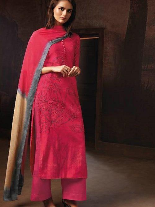 Ganga-Presents-Tvisha-Pure-Bemberg-Silk-Printed-With-Handwork-Salwar-Suit-8353