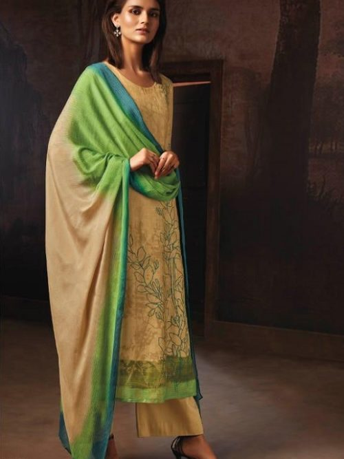 Ganga-Presents-Tvisha-Pure-Bemberg-Silk-Printed-With-Handwork-Salwar-Suit-8356