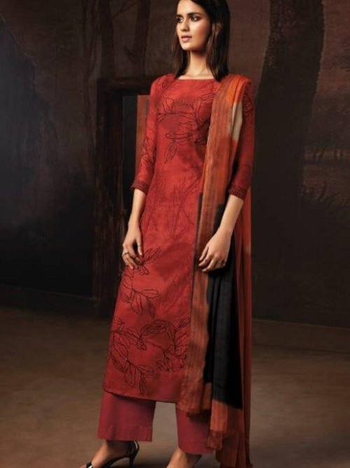 Ganga-Presents-Tvisha-Pure-Bemberg-Silk-Printed-With-Handwork-Salwar-Suits-8357