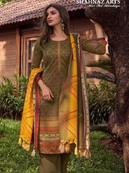Shahnaz-Arts-Presents-Gulshan-4-Heavy-Pashmina-Dobby-Print-Salwar-Suit-3010