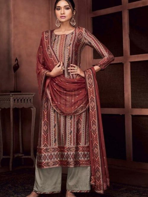 Ganga-Presents-Roots-Pure-Bemberg-Russian-Silk-Printed-With-Embroidery-and-Handwork-Salwar-Suit-8433