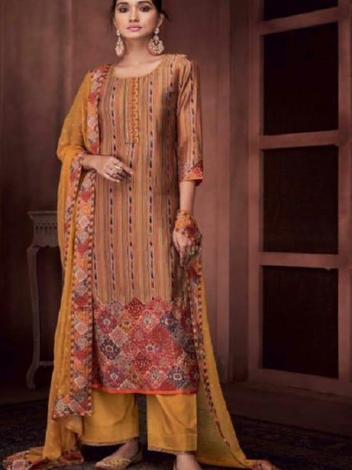 Ganga-Presents-Roots-Pure-Bemberg-Russian-Silk-Printed-With-Embroidery-and-Handwork-Salwar-Suit-8434