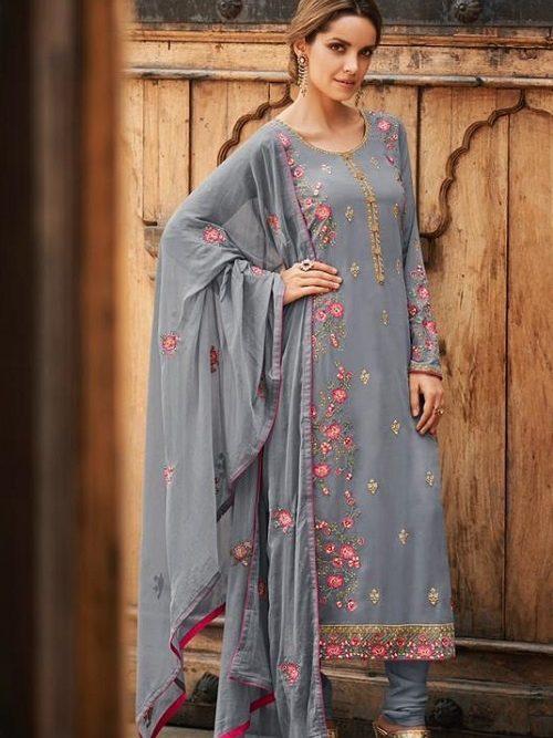 Avon-Trendz-Presents-Fashionista-8-Georgette-With-Embroidery-Work-Churidar-Suit-9031