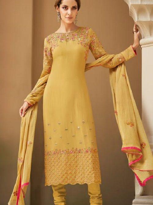 Avon-Trendz-Presents-Fashionista-8-Georgette-With-Embroidery-Work-Churidar-Suit-9032