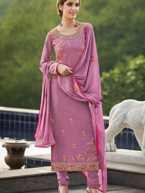 Avon-Trendz-Presents-Fashionista-8-Georgette-With-Embroidery-Work-Churidar-Suit-9033