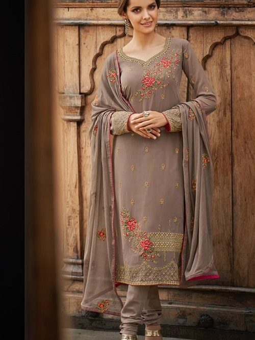 Avon-Trendz-Presents-Fashionista-8-Georgette-With-Embroidery-Work-Churidar-Suit-9034