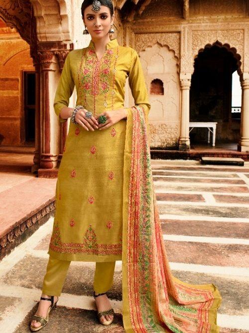 Belliza-Designer-Studio-Mehreen-100-Pure-Tusser-Handloom-Withre-Tusser-Fancy-Heavy-Embroidery-Works-Salwar-Suit-322-005
