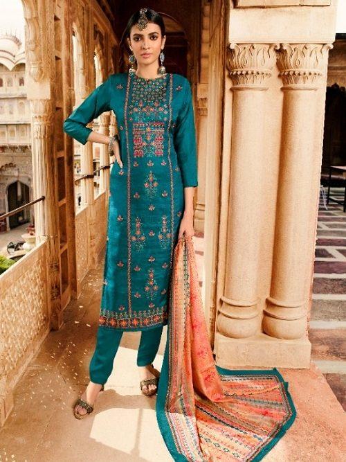 Belliza-Designer-Studio-Mehreen-100-Pure-Tusser-Handloom-Withre-Tusser-Fancy-Heavy-Embroidery-Works-Salwar-Suit-322-008
