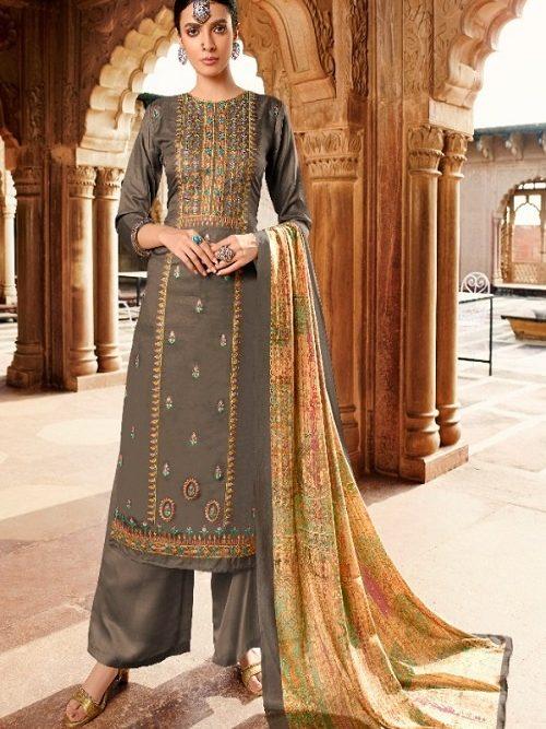 Belliza-Designer-Studio-Mehreen-100-Pure-Tusser-Handloom-Withre-Tusser-Fancy-Heavy-Embroidery-Works-Salwar-Suit-322-010