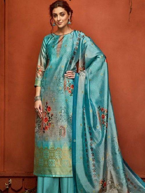 Belliza-Designer-Studio-Presents-Nayaab-Pure-Upada-Silk-Banarsi-Jacquard-Digital-Printed-Salwar-Suit-356-001