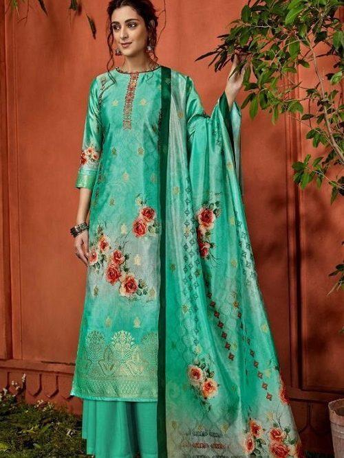 Belliza-Designer-Studio-Presents-Nayaab-Pure-Upada-Silk-Banarsi-Jacquard-Digital-Printed-Salwar-Suit-356-003