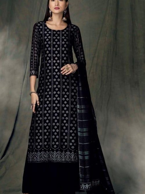 Ganga-Presents-Bidri-Pure-Kasuri-Silk-Printed-Salwar-Suit-Collection-8426