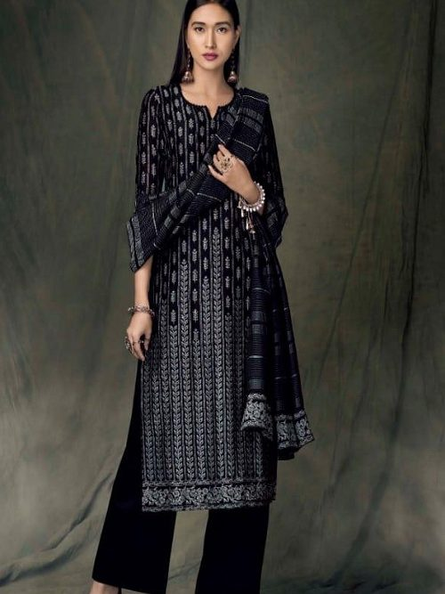 Ganga-Presents-Bidri-Pure-Kasuri-Silk-Printed-Salwar-Suit-Collection-8427